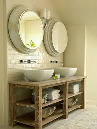 vessel sinks are the hot trend in bathroom design wood double bathroom vanity wall mount