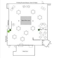 plan wedding reception villa luna wedding reception banquet floor plan small