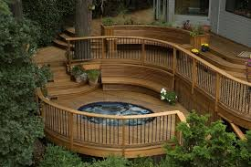 building a round or curved deck