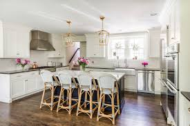 Houzzcom Kitchen Of The Week Updated Colonial Style In Creamy