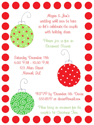 Christmas Bridal Shower Wording Shop Our Store Christmas