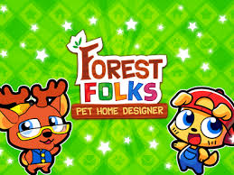forest folks cute pet home design game android apps on google play