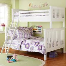bunk beds for kids twin over full. Plain Full The Land Of Nod  Kidsu0027 Bunk Beds Kids TwinOverFull White Simple Plank  Bed In Beds U003e Ah Much Cleaner For Paige And For Twin Over Full