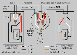 3 way switch wiring electrical 101 3 Wire Electrical Outlet 3 way light switch wiring diagram 3 wire electrical outlet 3 wire