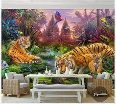 Custom photo wallpaper <b>3d</b> wall murals wallpaper Forest ...