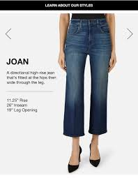 Boyfriend Jeans Size Chart Womens Jeans Size Guide Jeans Fit Guide J Brand