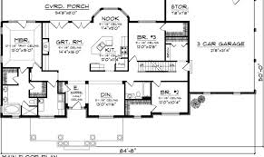 Lovely Single Level Home Plans 1 One Level House Plans With Single Single Level House Plans