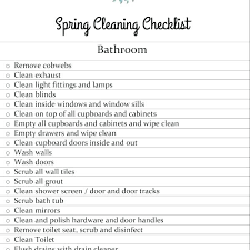 Bathroom Cleaning Schedule Impressive Design Inspiration