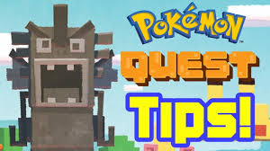 Pokemon Quest Tips Things You Need To Know Evolving Move Training Recipes Etc