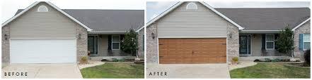 wood look garage door. Exellent Look Our Giani  To Wood Look Garage Door E