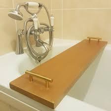 antique gold golden bath caddy rack tray bridge bathtub rack bridge copy