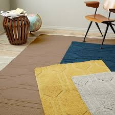 honeycomb textured wool rug special order 10 18 week delivery