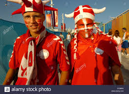 karl mondon contra costa times face painting is an international thing appaly as these northern european fans show enroute to swimming competition