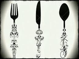 kitchen utensils silhouette vector free. Images Vintage Cutlery Clip Art Clipground Kitchen Utensils Silhouette Vector Free K