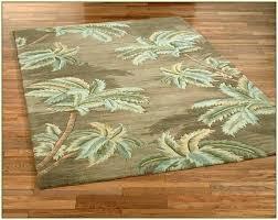 palm tree area rugs rug border
