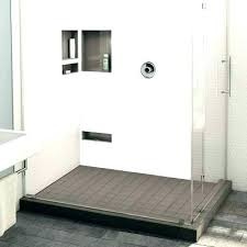 shower pan tile ready x shower base shower pans archives tile trench double curb shower pan shower pan tile ready