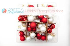 Christmas Decorations Storage Box Organized Holiday Christmas Decorating Ideas For Small Spaces 55