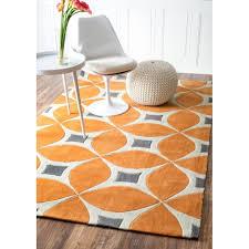 orange contour bath rug area burnt rugs white fluffy ikea gray and coffee tables lattice all modern plush for bedroom mid century home decor living room