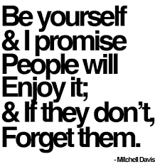 Quotes On Be Yourself Best of 24 Inspirational Quotes About Being Yourself Rockin' It