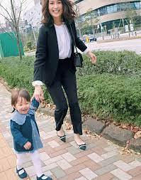 入園 式 ママ