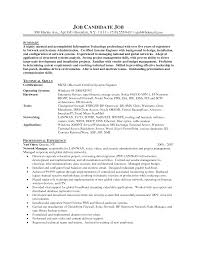 Windows Server Administration Sample Resume 16 System