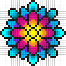 Perler Beads Patterns Unique Something Wonderful Perler Bead Pattern Bead Sprite 48 Colour