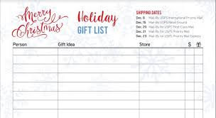 Gift Tracker Free Christmas And Hanukkah Gift Tracker Printable Pages The