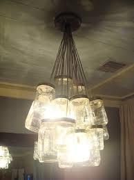 Diy mason jar lighting Ceiling Light Box Diymason Jar Chandelier Kara Paslay Design Diymason Jar Chandelier Kara Paslay Design