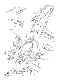 1999 yamaha yz400f yz400fl frame parts best oem frame parts on 80 carburetor diagram for schematic
