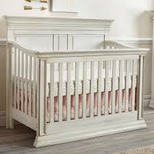 Baby Cache Vienna 4-in-1 Convertible Crib - Antique White - Babies