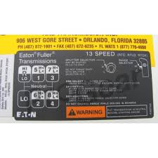 13 Speed Shift Pattern Amazing Eaton Fuller 48 Speed Shift Pattern 48