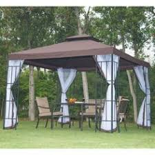 3 x metal gazebo garden canopy patio party event tent pavilion outdoor w net