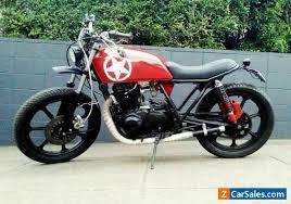 1982 kawasaki kz440 h scrambler tracker not a cafe racer