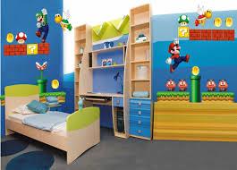 Super Mario Bros Bedroom Decor Endearing Mario Room Decor Furniture Interior Home Design Bedroom