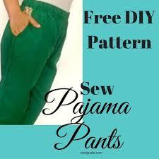Make Pants 2 Easy Ways To Make Pajama Pants Diy Pattern Sewing