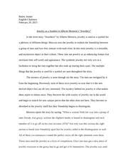 in ruth benedict s essay entitled a defense of moral relativism  2 pages englsih paper relationship of englsih