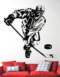 hockey wall decal wall stickers choice image home wall decoration ideas wall  stickers images home wall