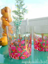 Coral Reef Paint Color Coral Reef Confetti Glasses
