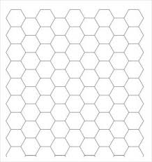 Hexagon Graph Paper Pdf Graph Paper Template Pdf Template Business