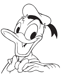 Small Picture Donald Duck Self Portrait Coloring Page H M Coloring Pages