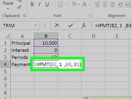 Mortgage Repayment Calculator Spreadsheet How To Calculate An Interest Payment Using Microsoft Excel