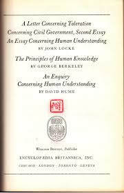 buy the empiricists locke concerning human understanding a letter concerning toleration concerning civil government second essay an essay concerning human understanding the principles of human knowledge