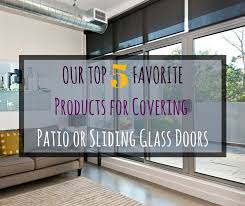 covering patio or sliding glass doors
