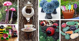 29 cute diy garden crafts you can make for your outdoor space