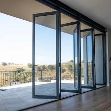 glass doors patio bifold patio doors