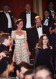 Prince William shares his 'frustration' at lack of diversity at  white-dominated Baftas as he jokes that he doesn't know whether to be  'alarmed' by how many winners had played members of his
