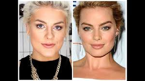 margot robbie inspired makeup tutorial