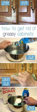 what can i use to get grease off kitchen cabinets luxury how to clean grease from