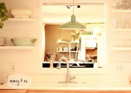 Kitchen Lighting Over Sink Metal Barn Light Over Kitchen Waraby