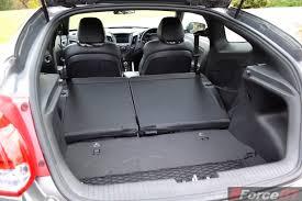 2015 Hyundai Veloster SR matte grey boot space - ForceGT.com